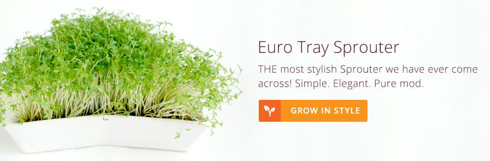 European Tray Sprouter