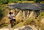 gil and lori on coal land